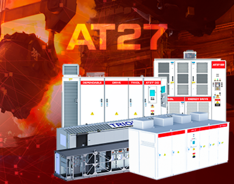 Triol AT27 variable frequency drives in the metallurgy industry