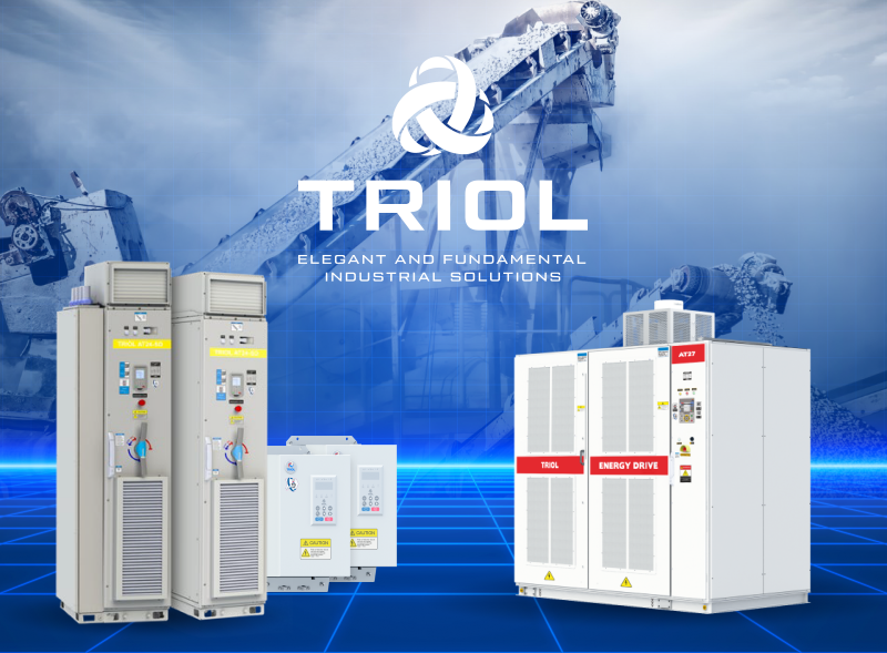 Increased productivity of technological processes with the Triol VFD implementation in conveyor systems